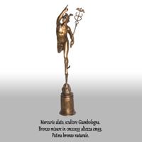 Mercurio alato bronzo (cod.0018DG)