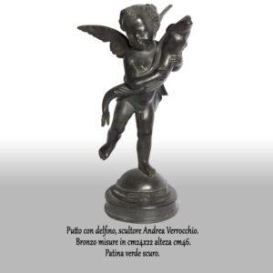 Putto-con-delfino-scultore-andrea-verrocchio