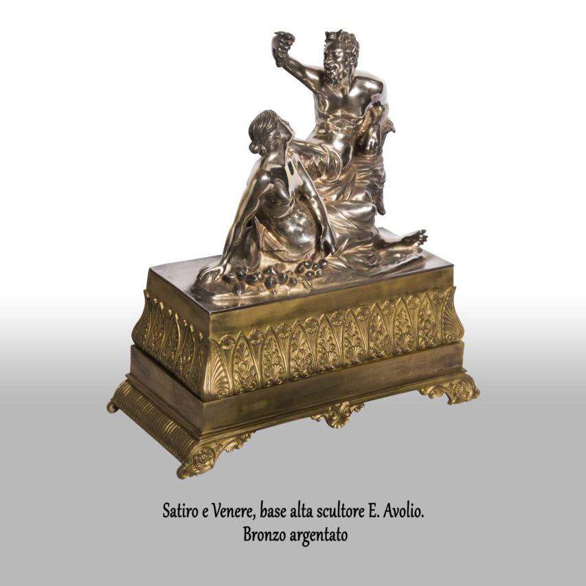 Satiro-e-Venere-base-alta-scultore-e.-avolio