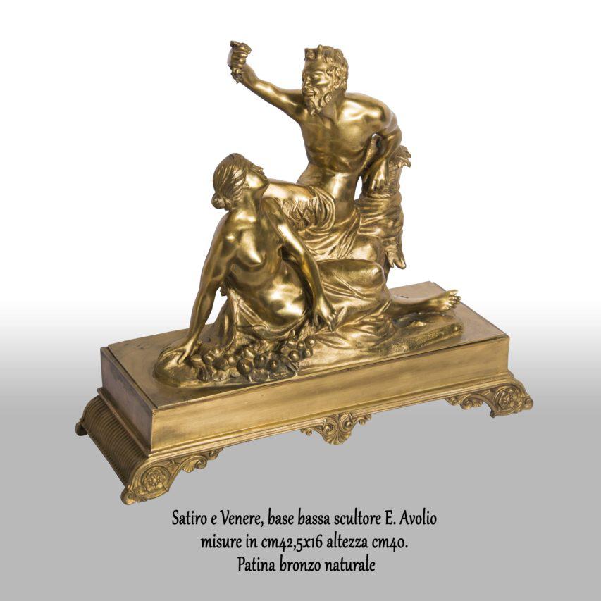 Satiro-e-Venere-base-bassa-scultore-e.-avoliomisure