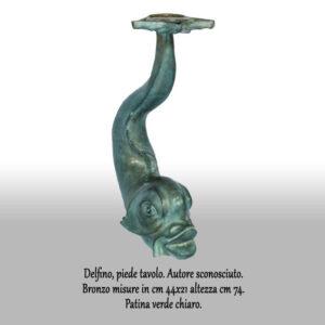 Delfino-piede-tavolo