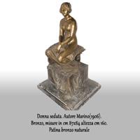Donna seduta (cod.0008DG)