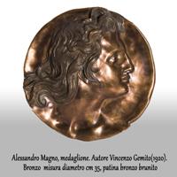 Medaglione A. M. (cod.0002DG)